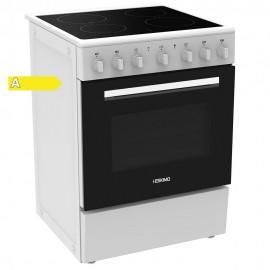 Eskimo ES 8030 Ηλεκτρική Κεραμική Κουζίνα Λευκή