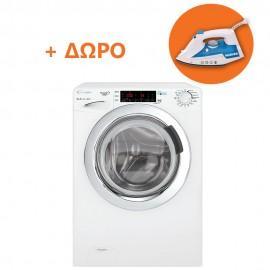 Candy GVS44 138TWHC3-S Πλυντήριο Ρούχων 8kg