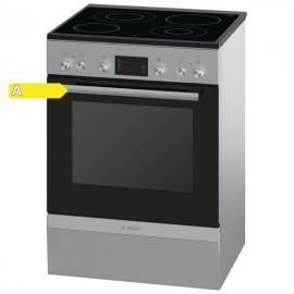 Bosch HCA744350G Ηλεκτρική Κουζίνα Κεραμική Inox