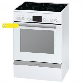 Bosch HCA743320G Ηλεκτρική Κουζίνα Κεραμική Λευκή