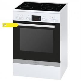 Bosch HCA743220G Ηλεκτρική Κουζίνα Κεραμική Λευκή