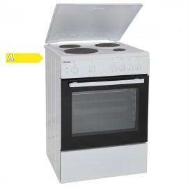 Eskimo ES 4020 W Ηλεκτρική Κουζίνα Εμαγιέ Λευκή