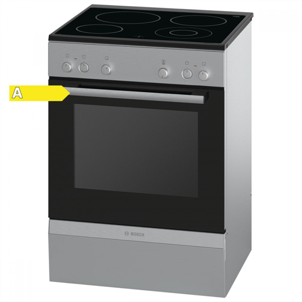 Bosch HCA723250G Ηλεκτρική Κουζίνα Κεραμική Inox