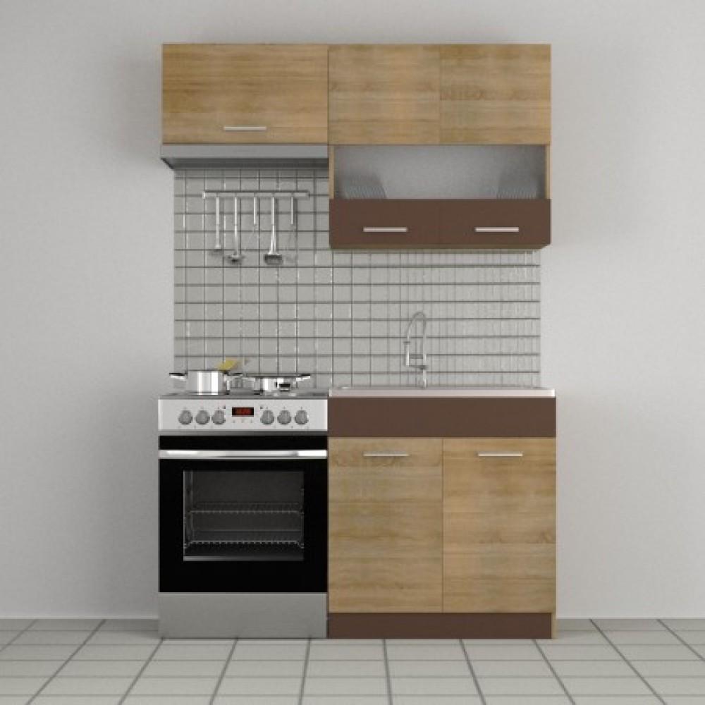 Κουζίνα Alina Σετ 2. 2
